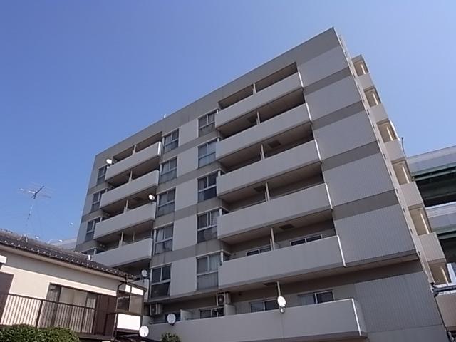 愛知県名古屋市北区、清水駅徒歩6分の築21年 7階建の賃貸マンション