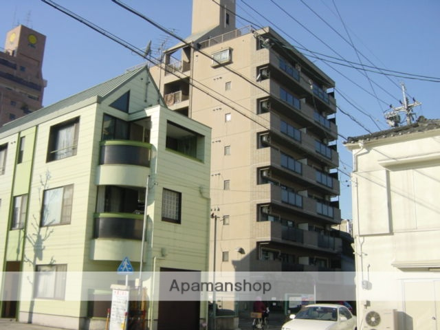 愛知県名古屋市西区、名古屋駅徒歩13分の築24年 8階建の賃貸マンション