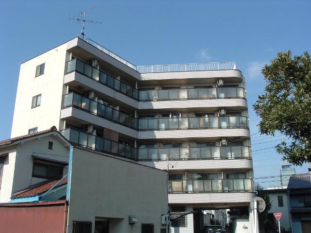 愛知県名古屋市中川区、山王駅徒歩10分の築25年 5階建の賃貸マンション