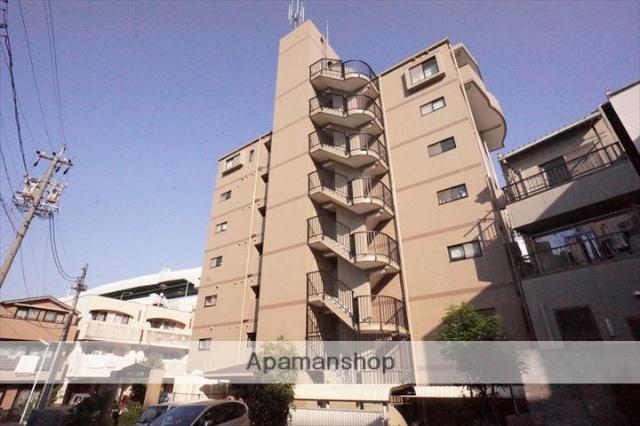 愛知県名古屋市東区、東大手駅徒歩8分の築22年 7階建の賃貸マンション