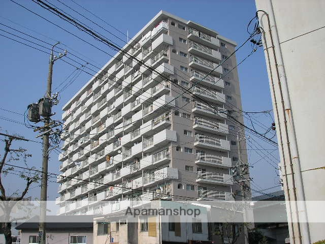 愛知県名古屋市中区、金山駅徒歩13分の築36年 14階建の賃貸マンション