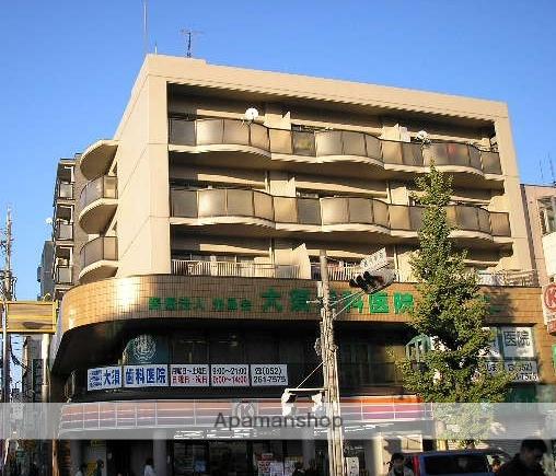 愛知県名古屋市中区、矢場町駅徒歩13分の築32年 5階建の賃貸マンション