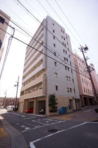 愛知県名古屋市中区、金山駅徒歩10分の築9年 9階建の賃貸マンション