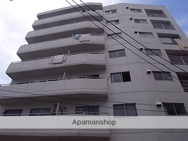 愛知県名古屋市東区、尼ヶ坂駅徒歩13分の築39年 7階建の賃貸マンション