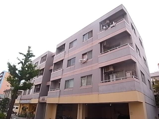 愛知県名古屋市東区、今池駅徒歩16分の築27年 4階建の賃貸マンション