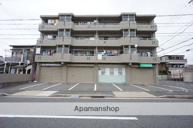 愛知県名古屋市中村区、本陣駅徒歩4分の築29年 4階建の賃貸マンション