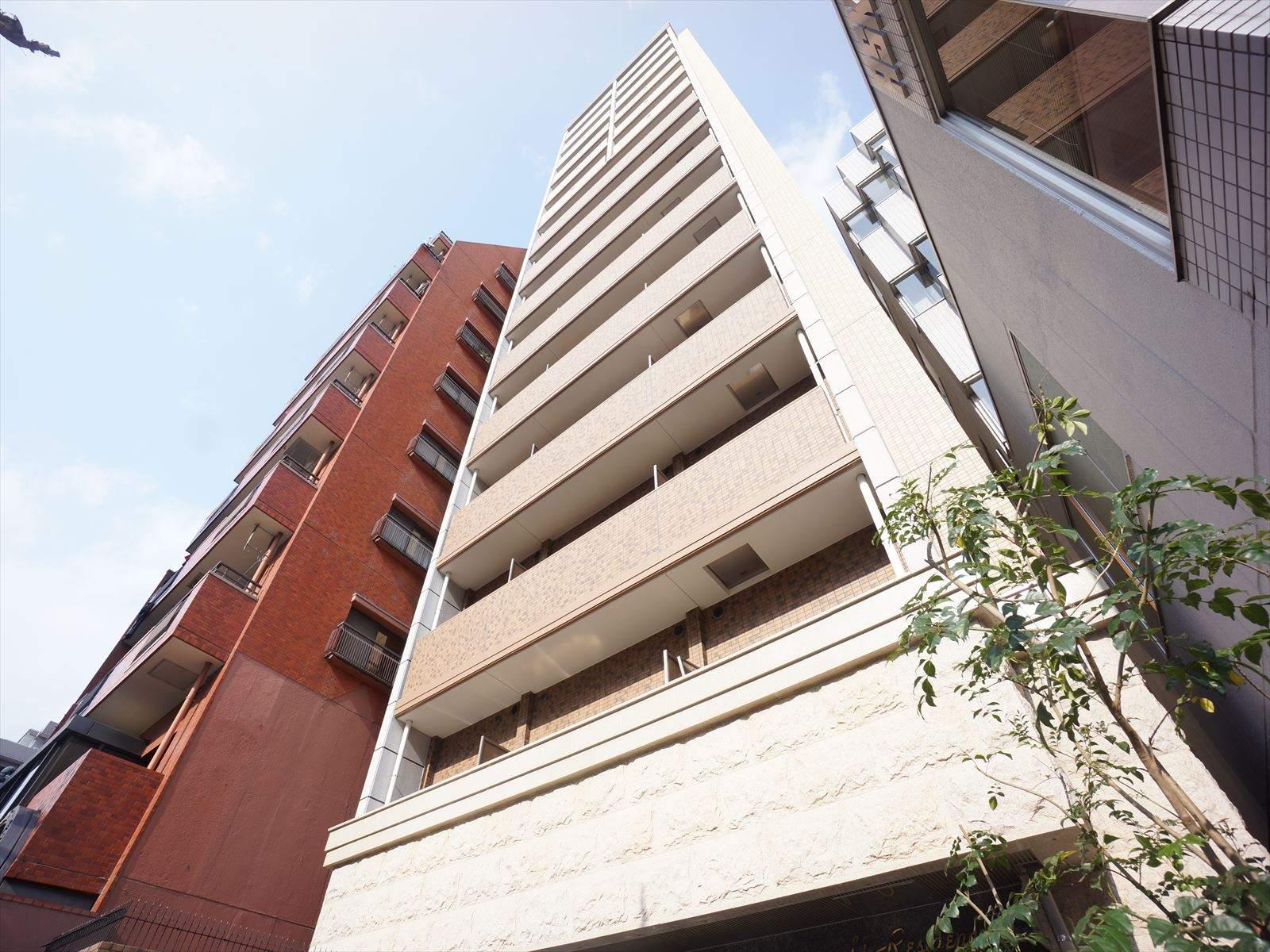 愛知県名古屋市中区、伏見駅徒歩9分の築3年 15階建の賃貸マンション