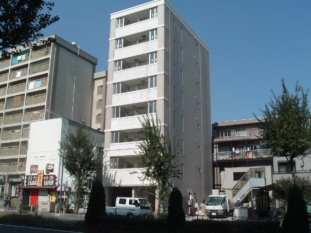 愛知県名古屋市東区、新栄町駅徒歩16分の築10年 8階建の賃貸マンション