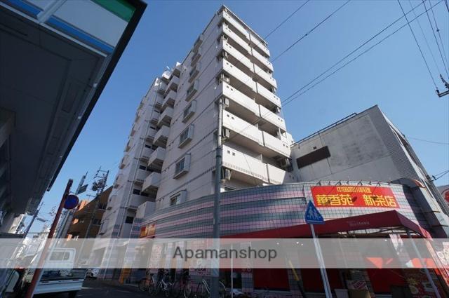 愛知県名古屋市中区、新栄町駅徒歩5分の築21年 9階建の賃貸マンション