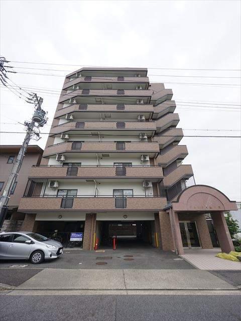 愛知県名古屋市東区、尼ヶ坂駅徒歩14分の築17年 8階建の賃貸マンション
