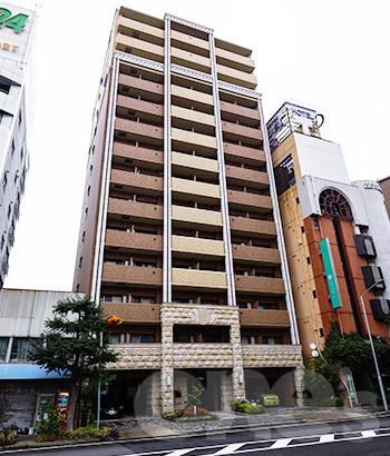 愛知県名古屋市中村区、名古屋駅徒歩8分の築9年 14階建の賃貸マンション
