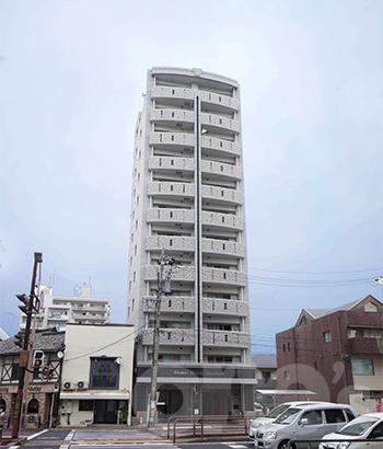 愛知県名古屋市東区、東大手駅徒歩7分の築4年 12階建の賃貸マンション
