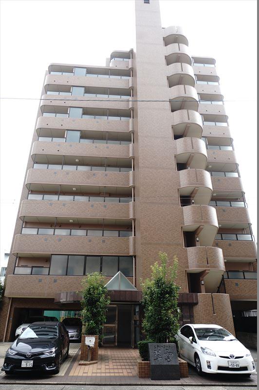 愛知県名古屋市中区、東別院駅徒歩11分の築17年 10階建の賃貸マンション