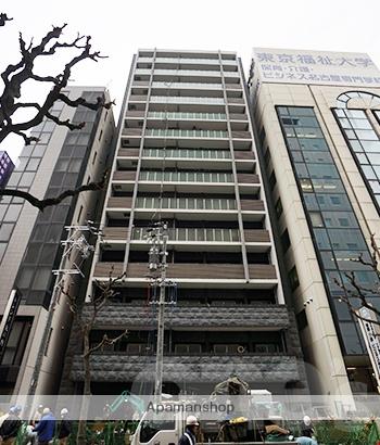 愛知県名古屋市中区、市役所駅徒歩10分の築1年 14階建の賃貸マンション