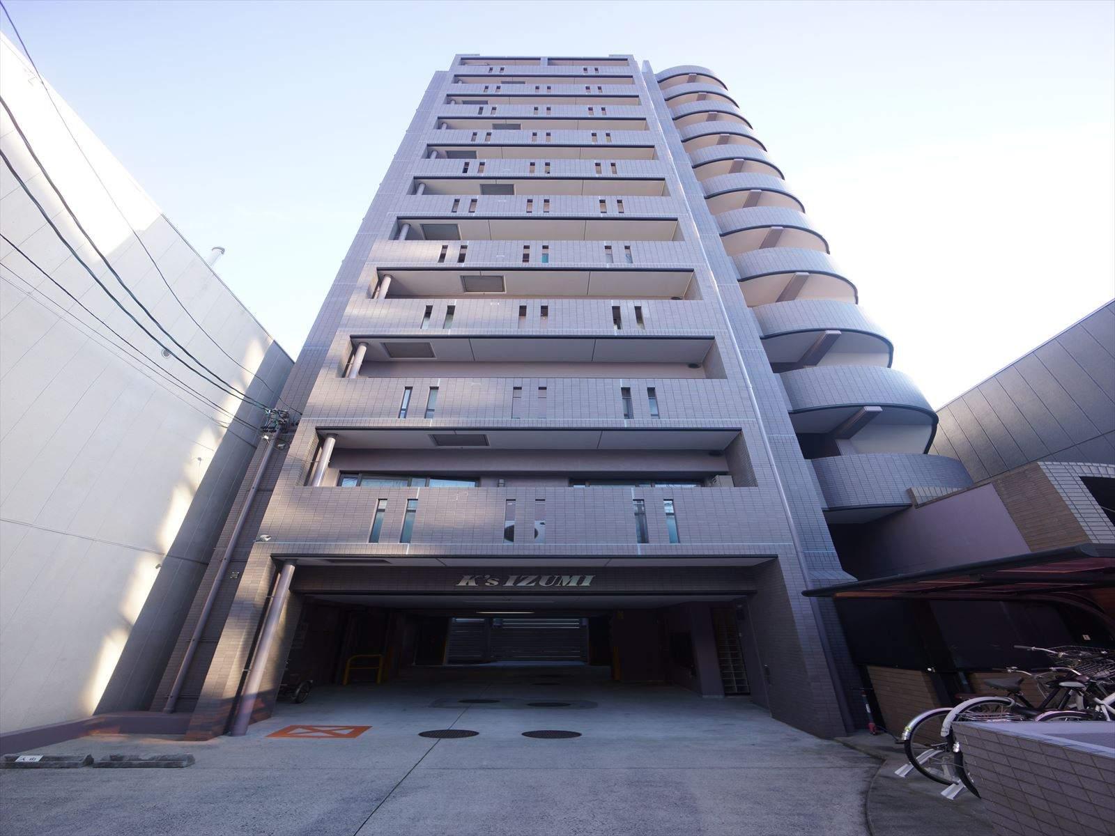 愛知県名古屋市東区、新栄町駅徒歩12分の築19年 11階建の賃貸マンション
