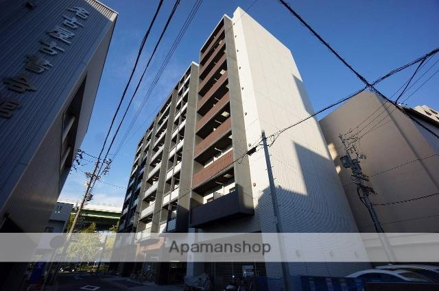 愛知県名古屋市中区、鶴舞駅徒歩7分の築7年 9階建の賃貸マンション