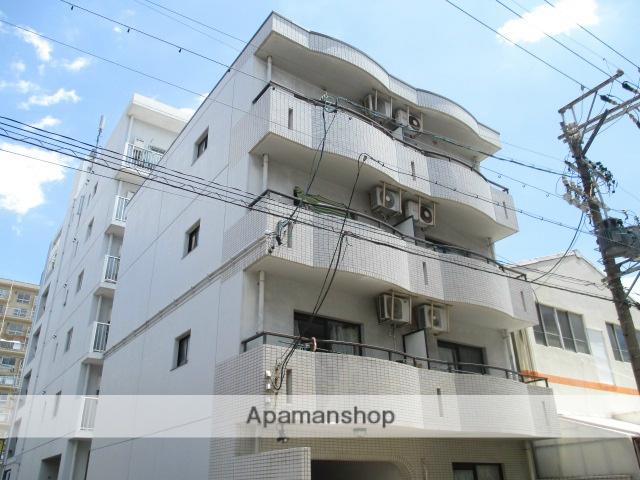 愛知県名古屋市中区、新栄町駅徒歩8分の築22年 4階建の賃貸マンション