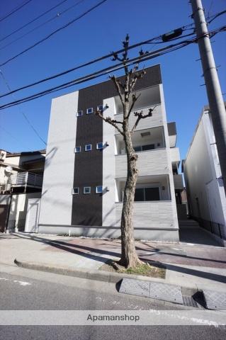 愛知県名古屋市中川区、尾頭橋駅徒歩17分の新築 3階建の賃貸アパート