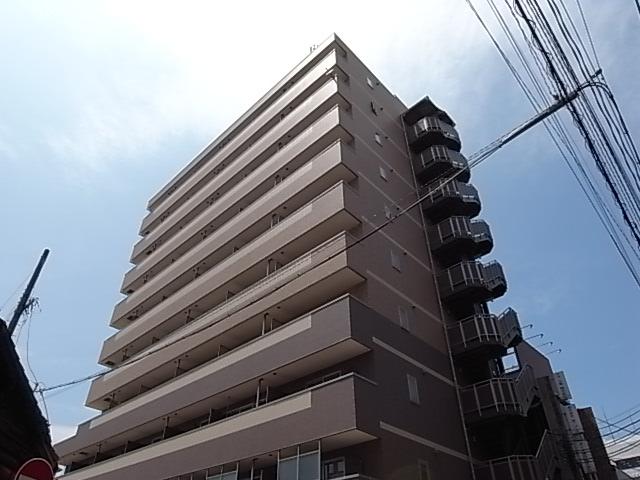 愛知県名古屋市中川区、金山駅徒歩16分の築11年 10階建の賃貸マンション