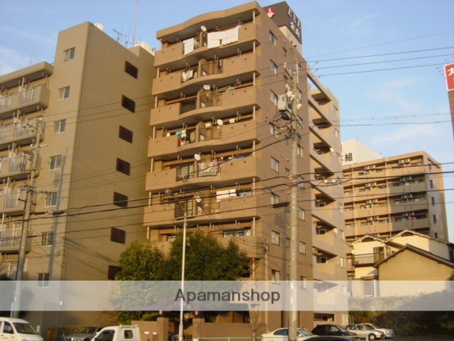 愛知県名古屋市中区、尾頭橋駅徒歩13分の築28年 9階建の賃貸マンション