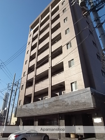 愛知県名古屋市熱田区、金山駅徒歩6分の築11年 9階建の賃貸マンション