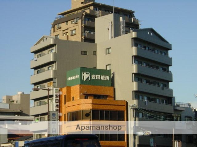愛知県名古屋市東区、新栄町駅徒歩9分の築22年 7階建の賃貸マンション