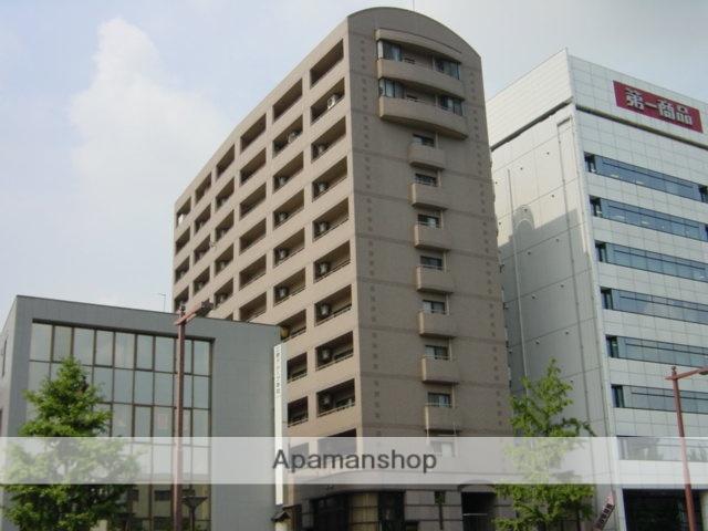 愛知県名古屋市東区、新栄町駅徒歩11分の築27年 12階建の賃貸マンション
