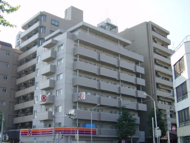 愛知県名古屋市東区、尼ヶ坂駅徒歩15分の築27年 8階建の賃貸マンション