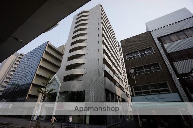 愛知県名古屋市東区、東大手駅徒歩9分の築27年 13階建の賃貸マンション