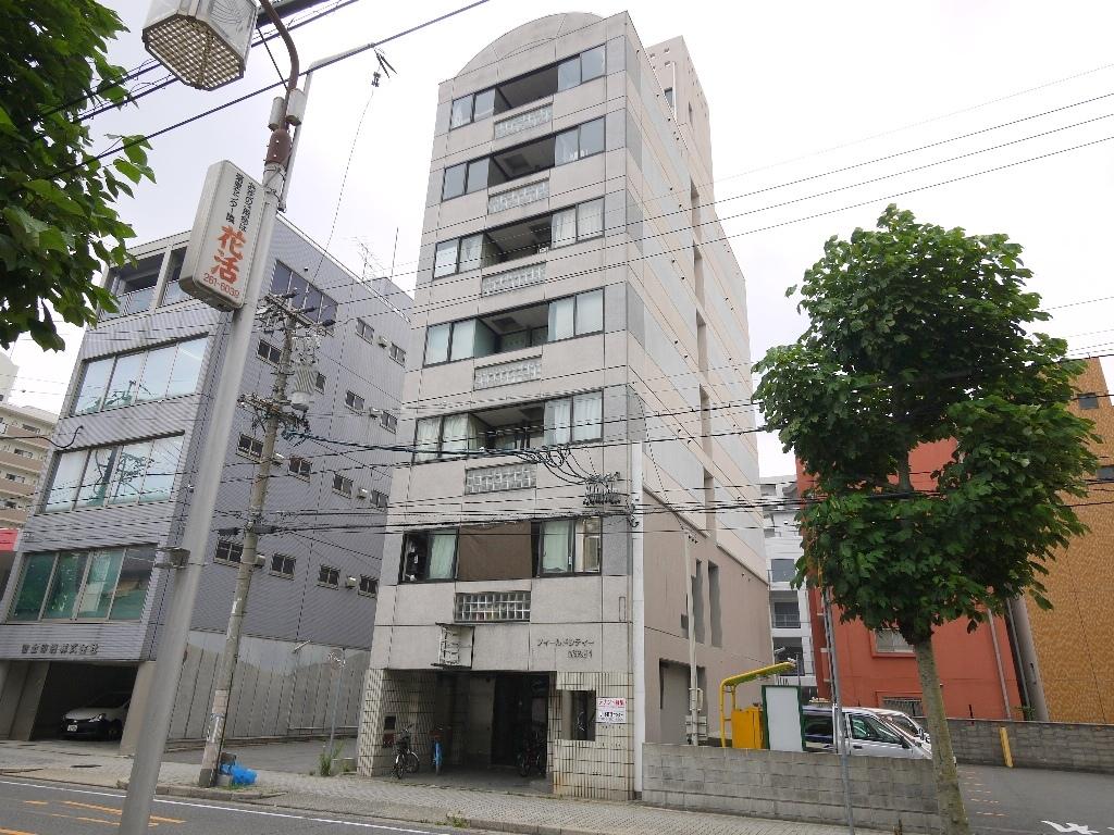 愛知県名古屋市中区、新栄町駅徒歩7分の築25年 7階建の賃貸マンション