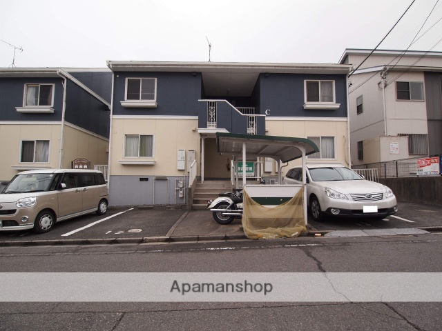 愛知県東海市、聚楽園駅徒歩24分の築27年 2階建の賃貸アパート