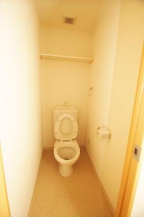 トレル朝倉[1DK/30.9m2]のトイレ