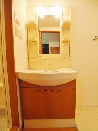 ハッピー・スターチス[1K/30.94m2]の洗面所