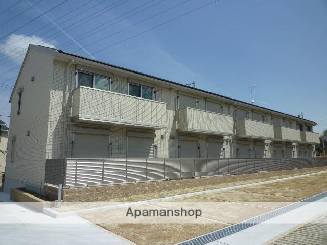 愛知県名古屋市緑区、徳重駅徒歩17分の築2年 2階建の賃貸アパート