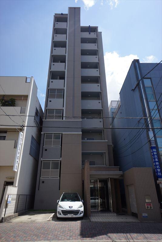 愛知県名古屋市中区、鶴舞駅徒歩9分の築9年 10階建の賃貸マンション
