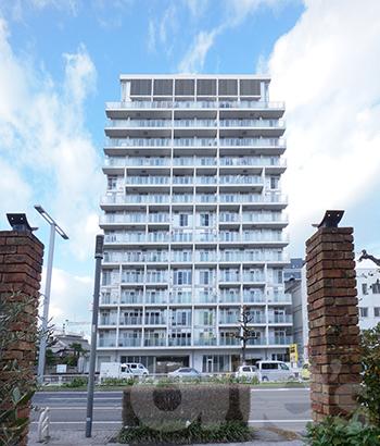 愛知県名古屋市東区、新栄町駅徒歩2分の築10年 15階建の賃貸マンション