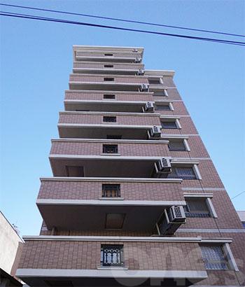 愛知県名古屋市東区、森下駅徒歩15分の築9年 10階建の賃貸マンション