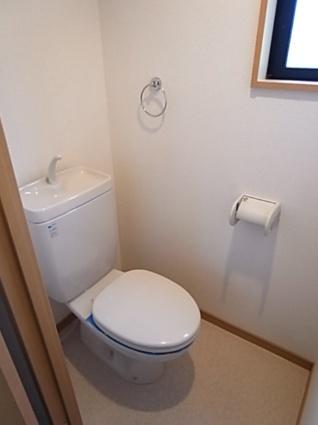 アビタシヨンM[1K/18.4m2]のトイレ
