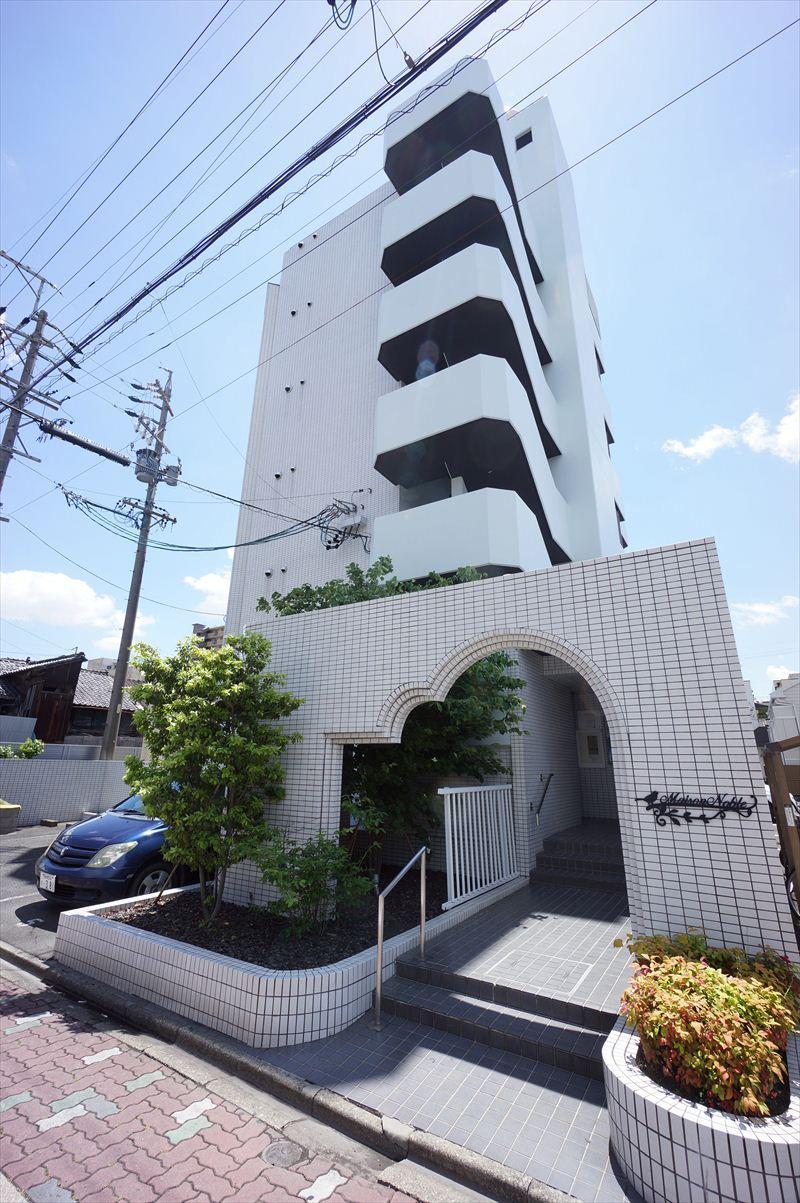 愛知県名古屋市中村区、中村日赤駅徒歩10分の築29年 6階建の賃貸マンション