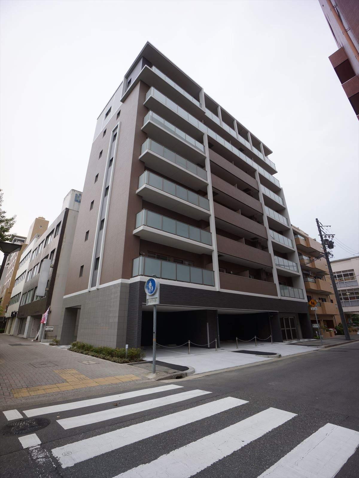 愛知県名古屋市東区、新栄町駅徒歩6分の新築 8階建の賃貸マンション