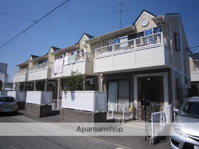 愛知県瀬戸市、水野駅徒歩7分の築18年 2階建の賃貸テラスハウス