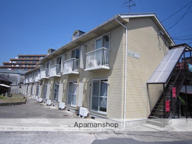愛知県瀬戸市、新瀬戸駅徒歩7分の築26年 2階建の賃貸アパート