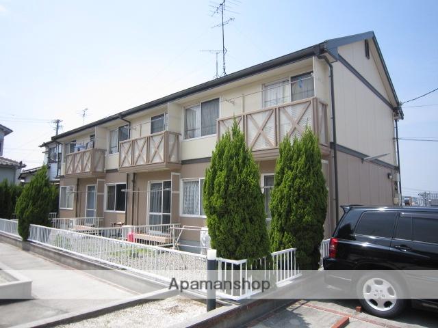 愛知県瀬戸市、新瀬戸駅徒歩13分の築22年 2階建の賃貸アパート