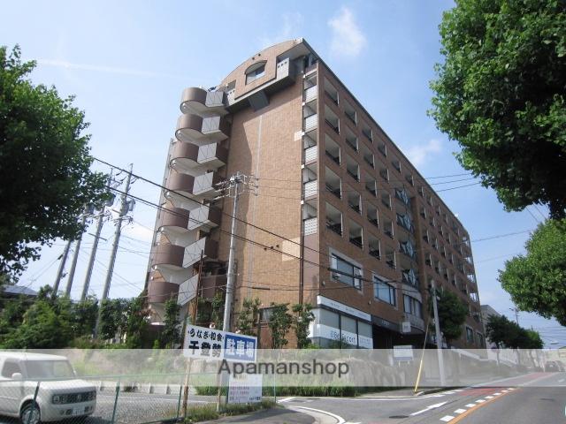 愛知県瀬戸市、新瀬戸駅徒歩24分の築23年 8階建の賃貸マンション