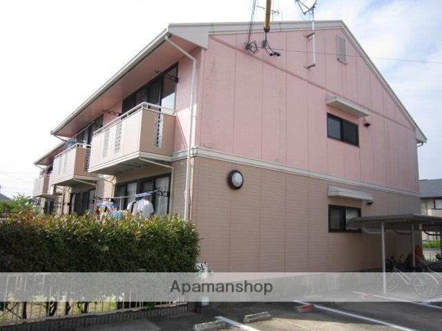 愛知県瀬戸市、山口駅徒歩28分の築25年 2階建の賃貸アパート