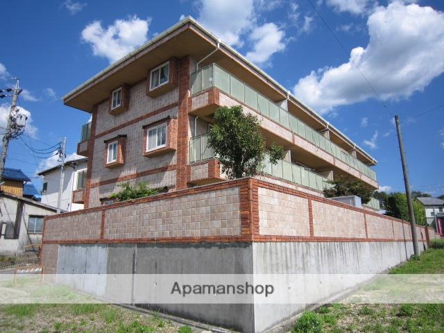 愛知県瀬戸市、新瀬戸駅徒歩24分の築18年 3階建の賃貸マンション