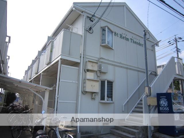 愛知県瀬戸市、山口駅徒歩6分の築23年 2階建の賃貸アパート