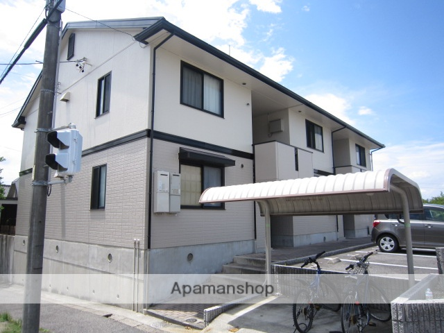 愛知県瀬戸市、新瀬戸駅徒歩29分の築20年 2階建の賃貸アパート