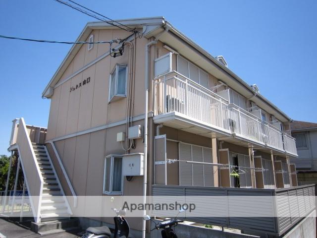 愛知県瀬戸市、山口駅徒歩30分の築25年 2階建の賃貸アパート
