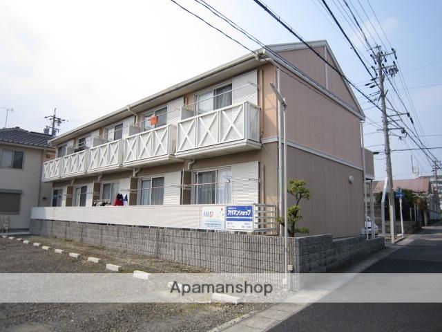 愛知県瀬戸市、新瀬戸駅徒歩7分の築24年 2階建の賃貸アパート